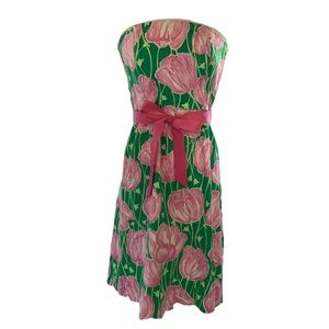 Lilly Pulitzer Sienna Dress in Towering Tulips